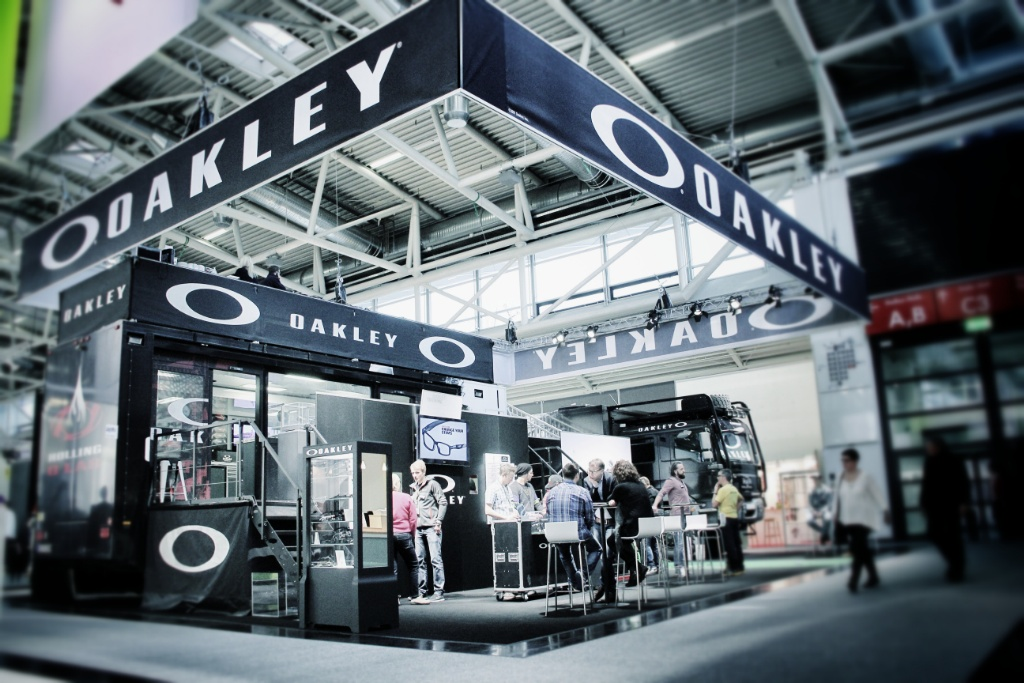 Oakley Messestand Opti 2014 by Kuchel