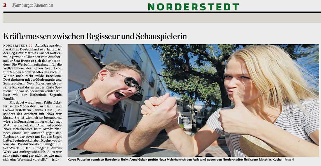 Hamburger Abendblatt_Dezember 2012 Nova Meierhenrich